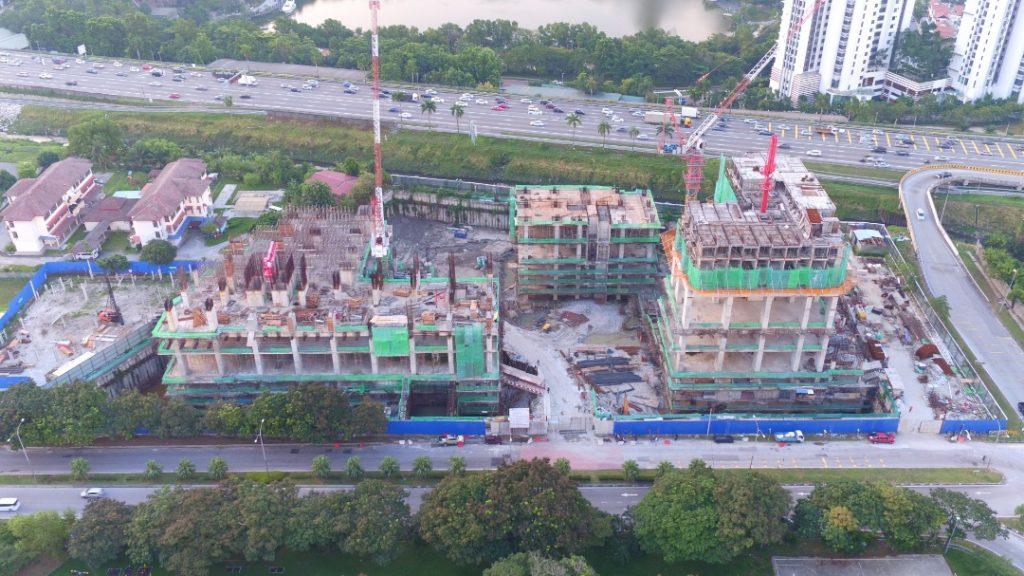 EDUMETRO – SUBANG JAYA 的施工进度 (2019 年 5 月)