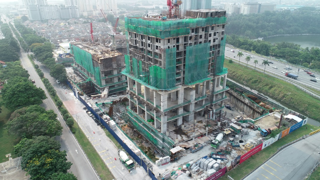CONSTRUCTION PROGRESS OF EDUMETRO @ SUBANG JAYA (SEPTEMBER 2019)