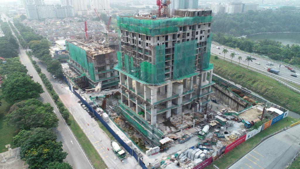 EDUMETRO – SUBANG JAYA 施工进度 (2019 年 9 月)