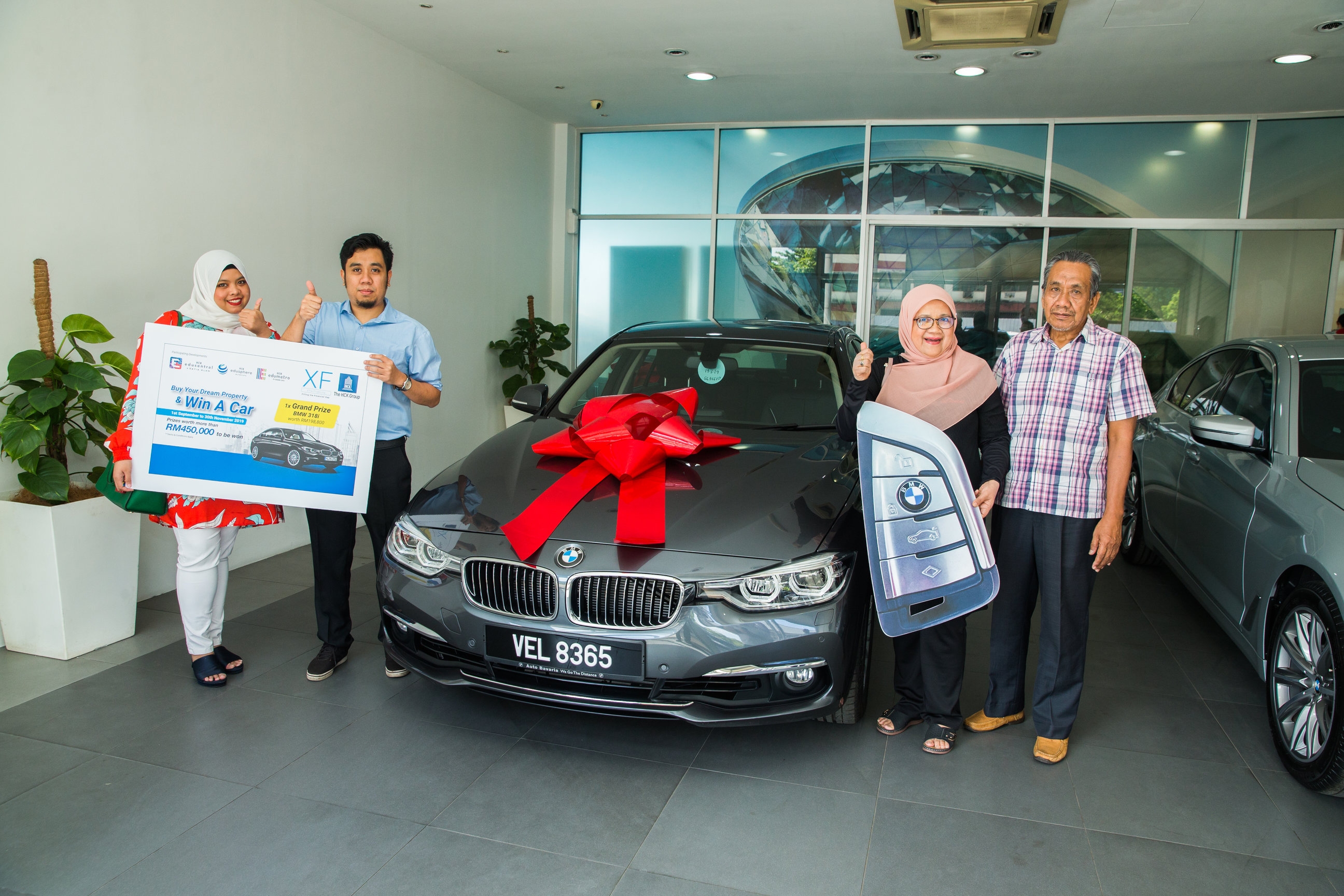 HCK Homebuyer Takes Home BMW318i